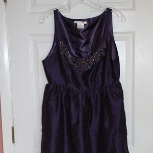 Charolotte Russe purple dress